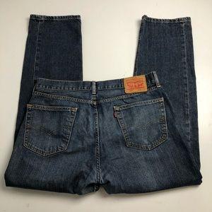 Levi's 505 Straight Cut Jeans Mens 36x32